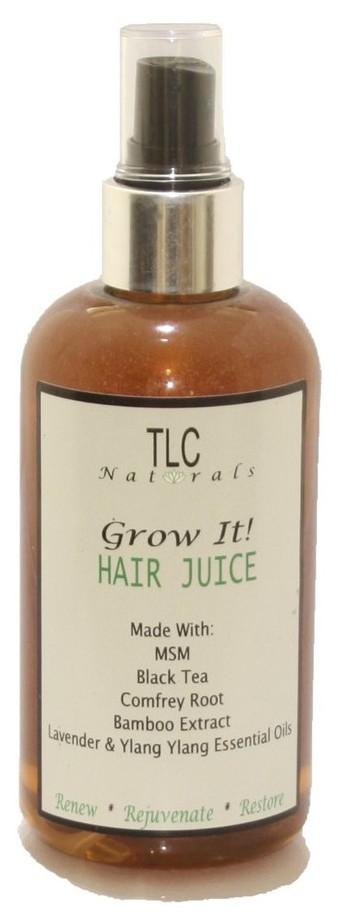 Lotion pour faire pousser les cheveux afro