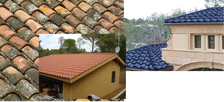 C mo lograr que las tejas luzcan como nuevas for Pintura para tejas