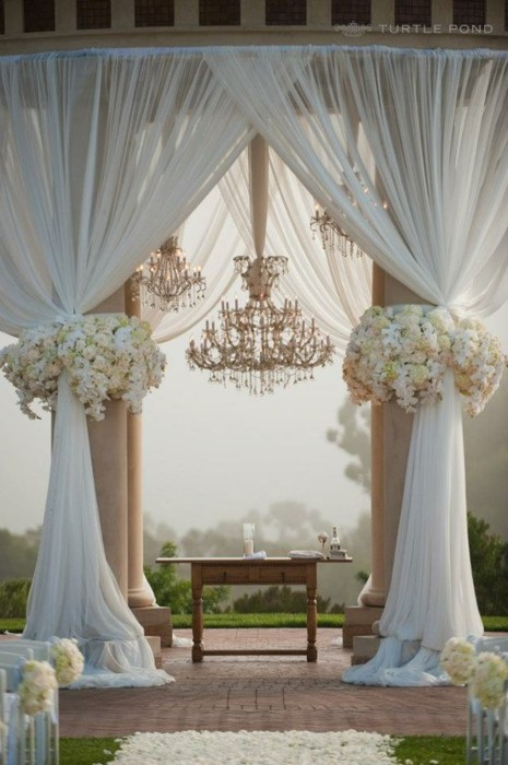 Wedding BuzzDecorating with Drapery