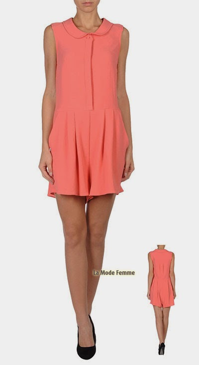 LOVE MOSCHINO Combi-short corail tendance