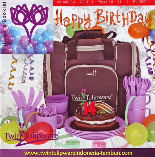 Booklet - Katalog Twin Tulipware Mei - Juni 2014