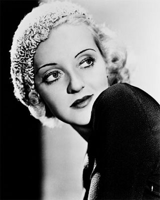 vintage portrait bette davis