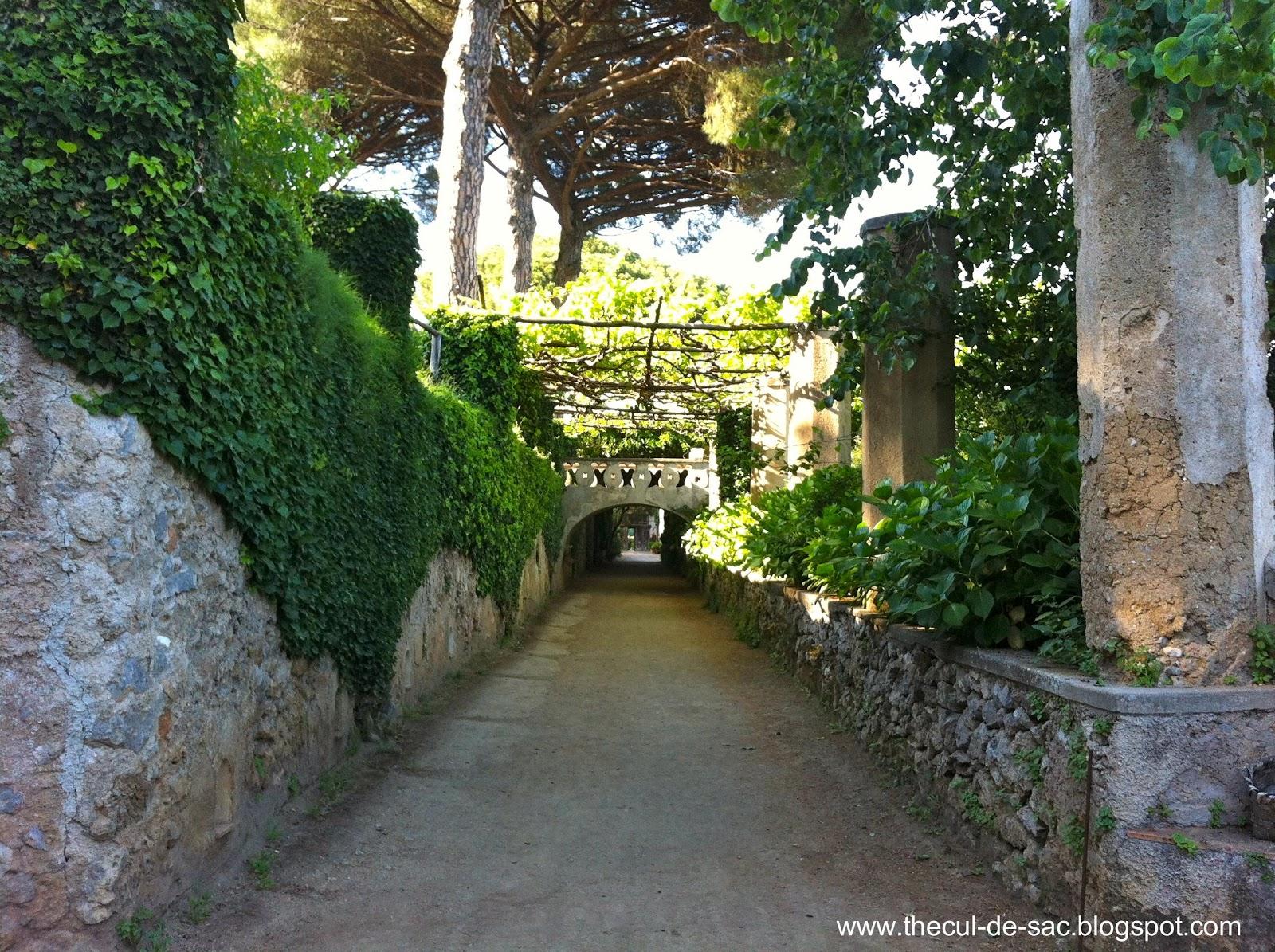 The Cul De Sac The Amalfi Coast And Capri Part I