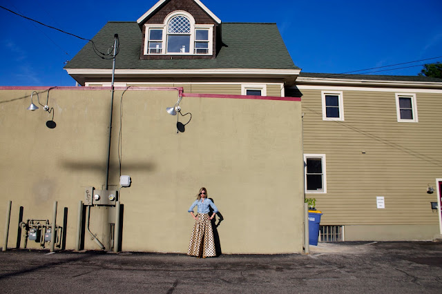 Polka Dots, Skirt, Shabby Apple, Grand Rapids, Style