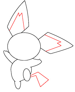 How To Draw Pichu Step 6