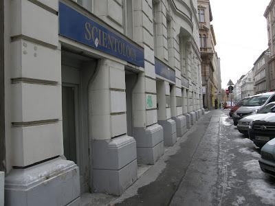 szcientológia, scientology, egyház, Bécs, Wien, Vienna, L. Ron Hubbard, vallás, központ, templom