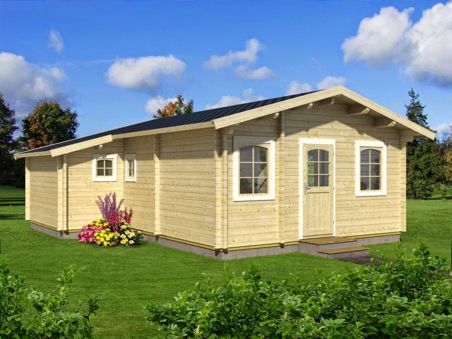 Casas de madera baratas bungalow de madera modelo emily - Fotos de bungalows de madera ...