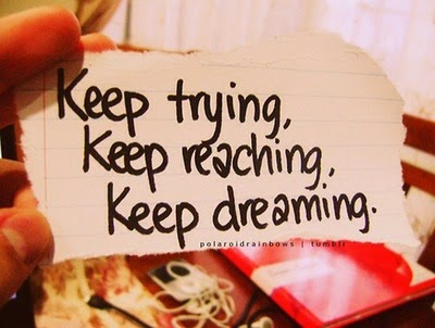 Keep Reaching