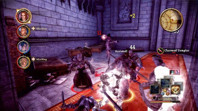 Dragon Age: Origins mage tower combat
