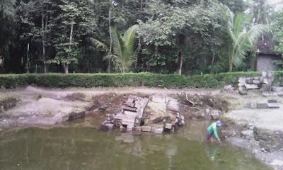 Candi Morangan di Sleman Yogyakarta