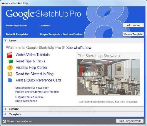 Google Sketchup Pro version 8.0.14346 Portable