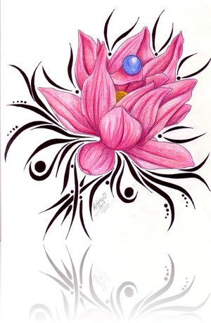 lotus flower tattoos designs