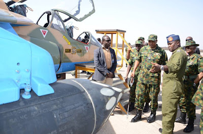 Air Force Locally Reconfigures Trainer Aircrafts Bought By Jonathan's Administration.[ Photos ]