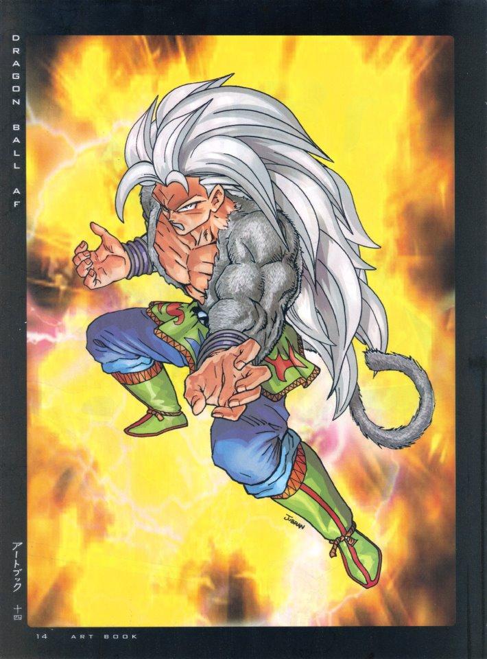 dbz dragon ball af super saiyan 5 goku