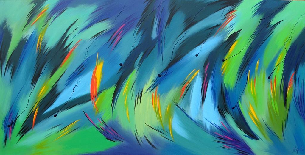 Cuadros pinturas oleos cuadros acr licos abstractos - Cuadros de acrilico ...