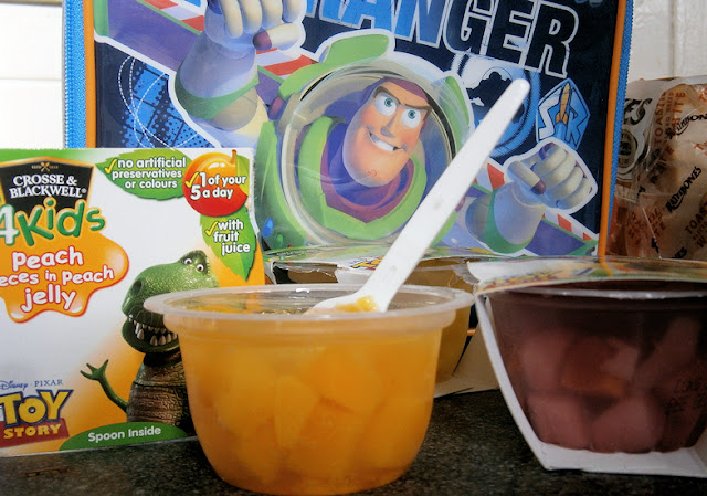 Crosse and Blackwell fruit jelly toy story pots