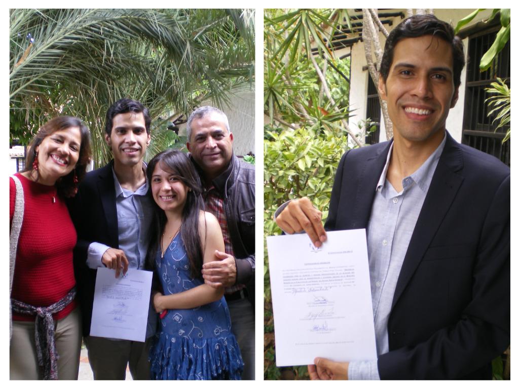 Armando Defensa de Grado como Ingeniero de Sistemas/Universidad de Margarita, Junio 2015