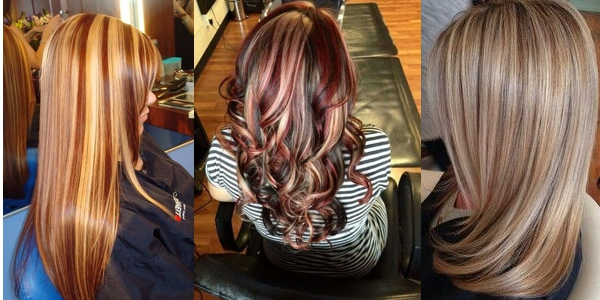 Amazing Multi Colored Highlights - Hair colour and highlights