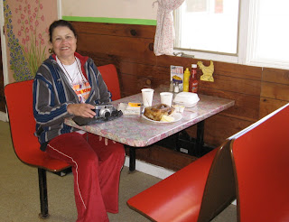 Spartan but comfortable, the Chicken Cafe offers meals in the heart of the Alaska wilderness.