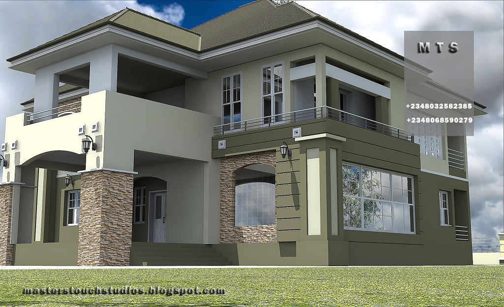 Duplex design in nigeria joy studio design gallery for Modern house designs in nigeria