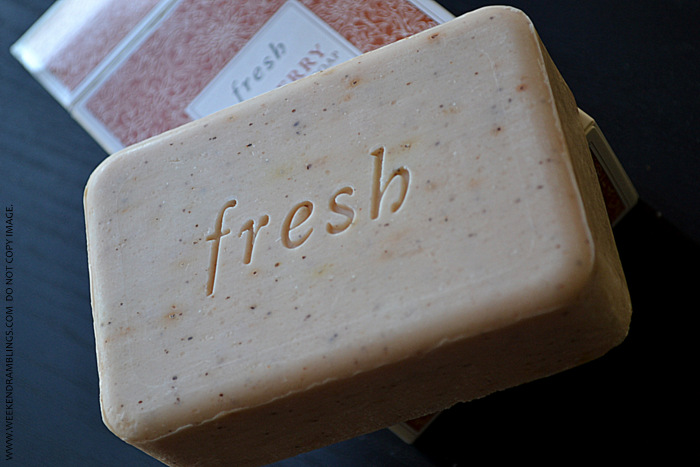 Fresh Seaberry Exfoliating Soap Bath Body Products Skincare Reviews Blog Organic Natural Ingredients