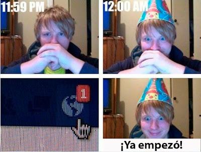 saludos de cumpleaños por facebook