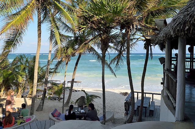 Restaurant au Papaya Playa Project à Tulum