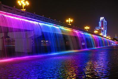 Jembatan Banpo (Jembatan Air Mancur) Korea Selatan