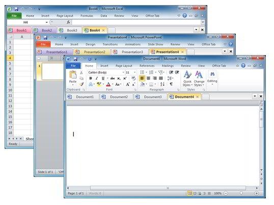 Office Tab Enterprise v10.0 x86 / x64