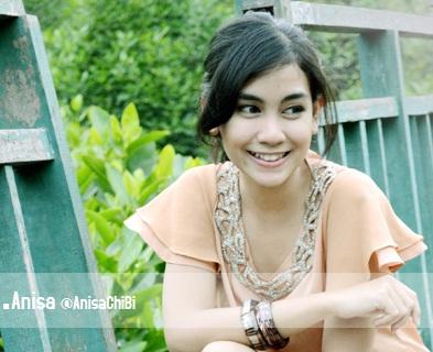 Anisa, Foto dan Biodata lengkap personil Cherry Belle