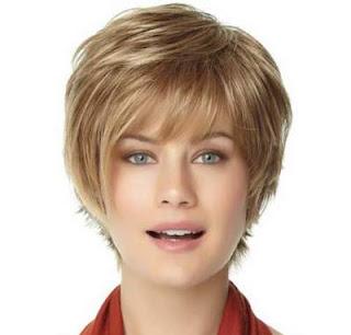 model potongan rambut pendek wanita wajah bulat short pixie
