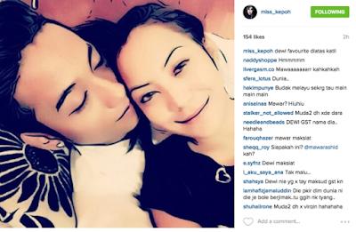 Gambar Mawar Rashid Berpeluk Dengan Kekasih Jadi Bahan Kritikan Peminat