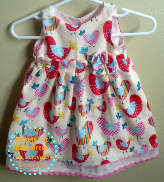 http://thestitchingscientist.com/2013/08/rickety-rac-baby-dress-tutorial-and-free-pattern.html