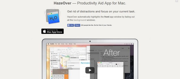 HazeOver Mac productivity software