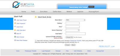Cara Mendaftar Dan Menghasilkan Uang Dari Blog Melalui PPC Kliksaya
