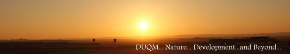 DUQM.. Nature... Development...and Beyond...