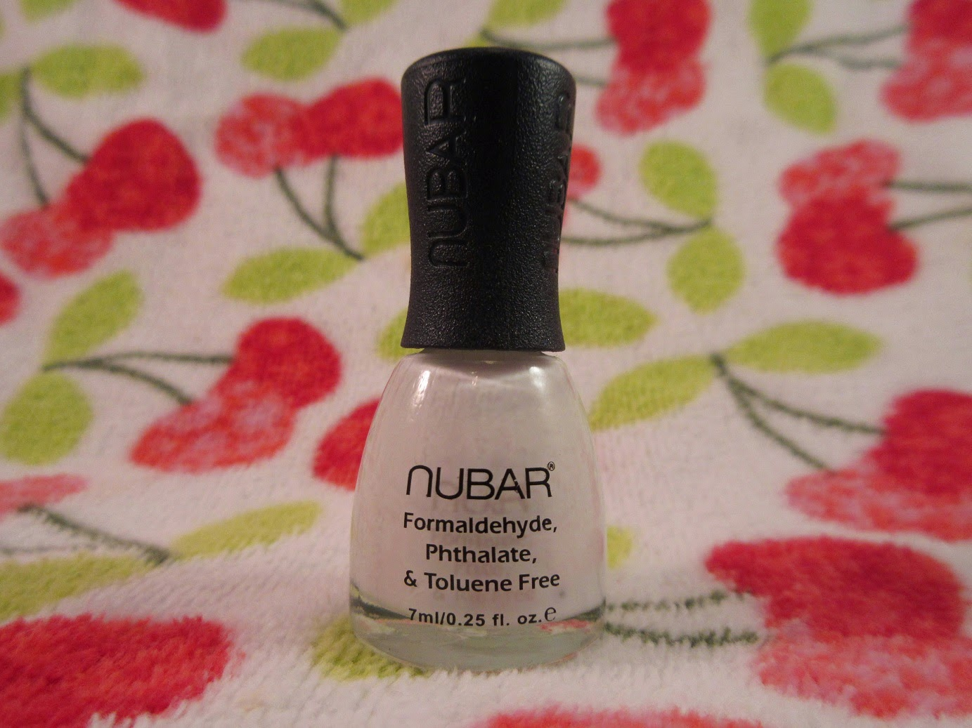 Nubar French White Tip Nail Lacquer Review+Swatches - Neon Chipmunk