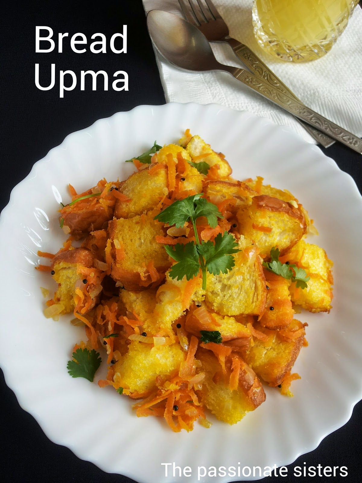how to prepare bread upma