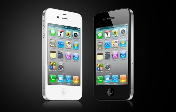 white iphone vs black iphone 4. the white iPhone 4 exhibits