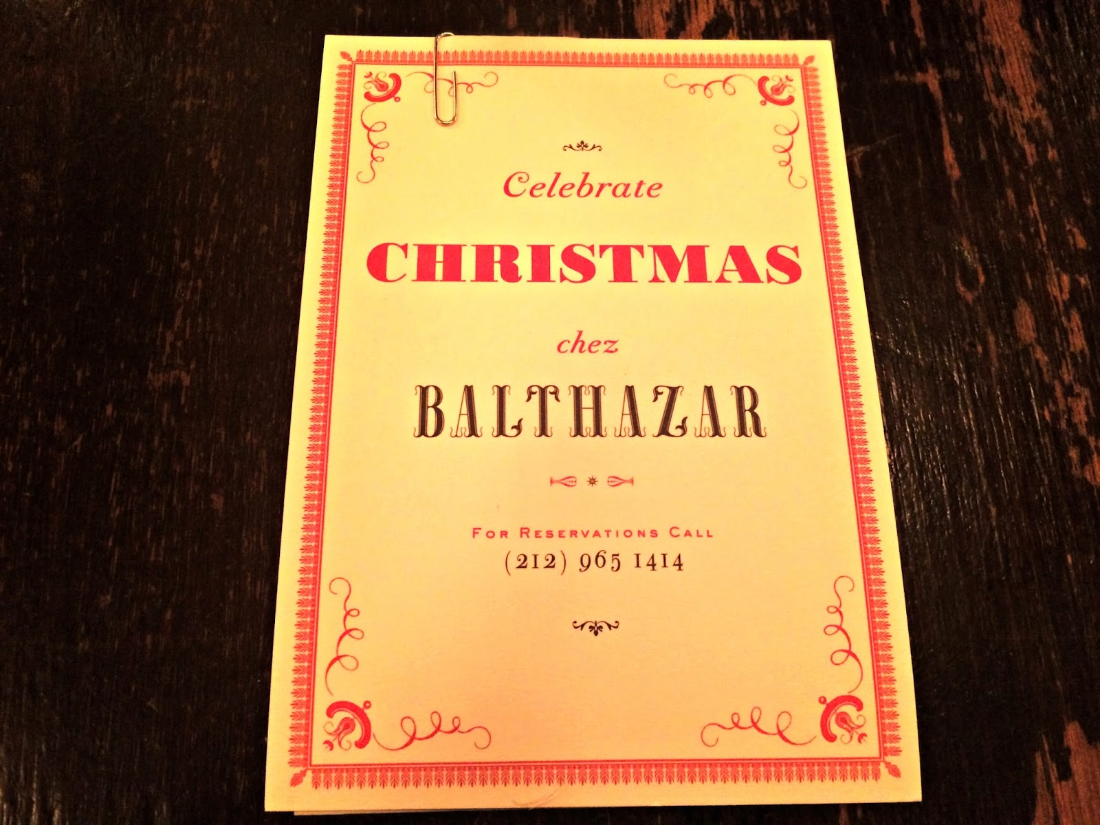 New York Balthazar