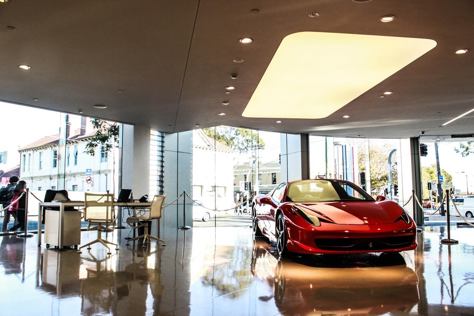 Ferrari dealership sydney