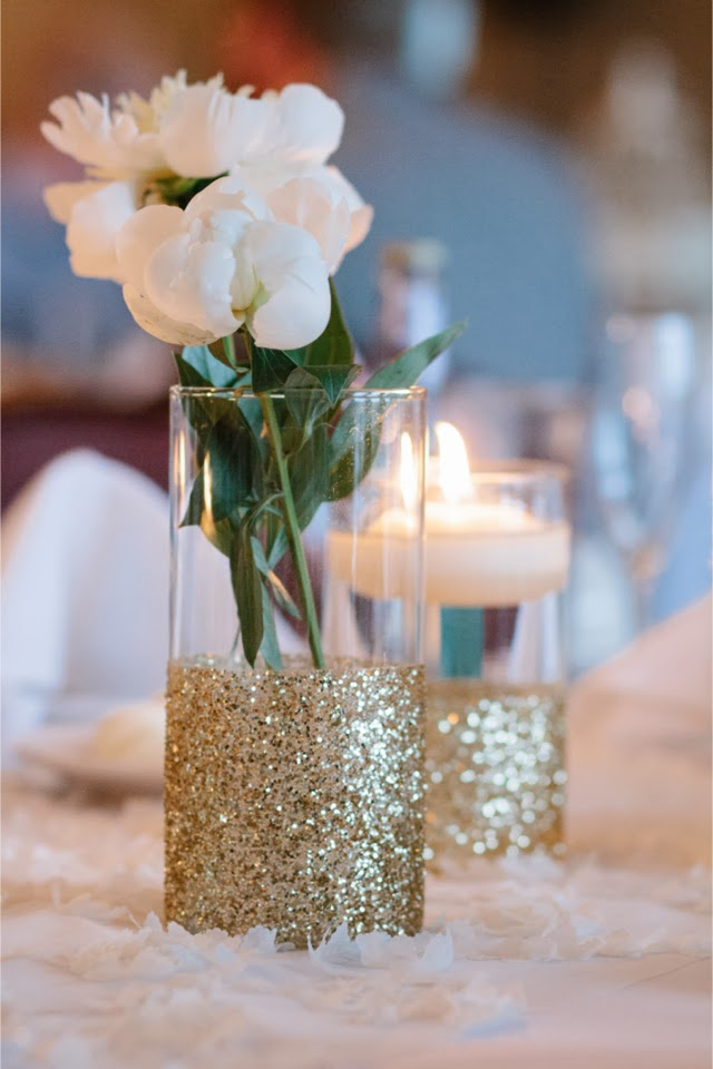 Memorable wedding ideas that glitter