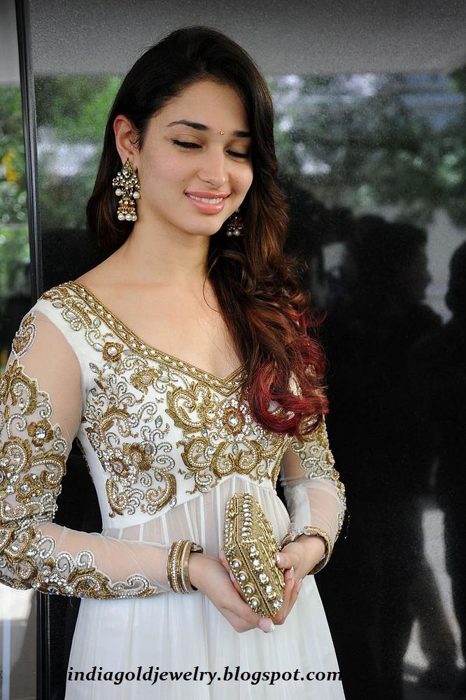 indian gold and diamond jewellery tamanna bhatia in
