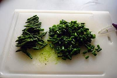 Frittata di asparagi 5