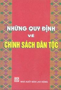 Nhung quy dinh ve chinh sach dan toc - sachvn247