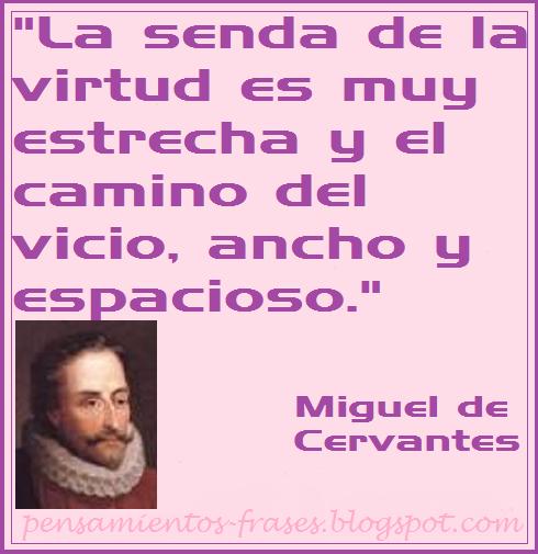 rases de Miguel de Cervantes