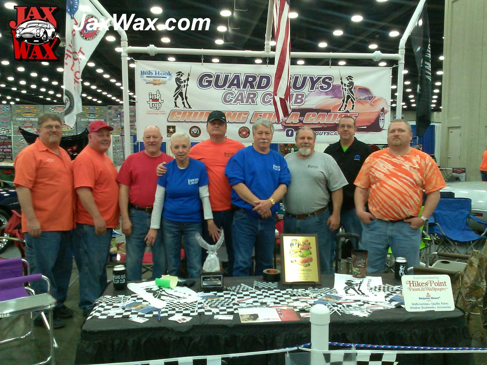 Guard Guys Car Club Carl Casper Auto Show Jax Wax Customer