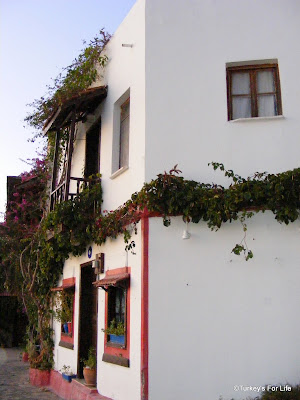 traditional Kalkan house