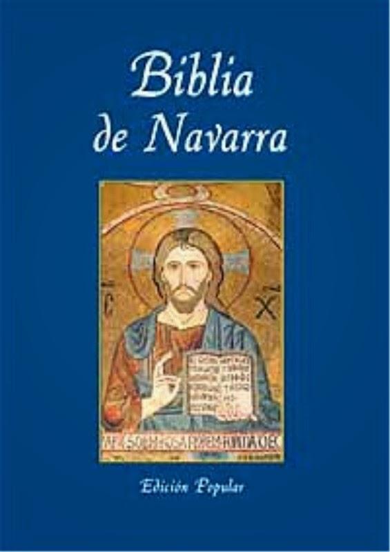 La Biblia en español: Biblia de Navarra en pdf gratis