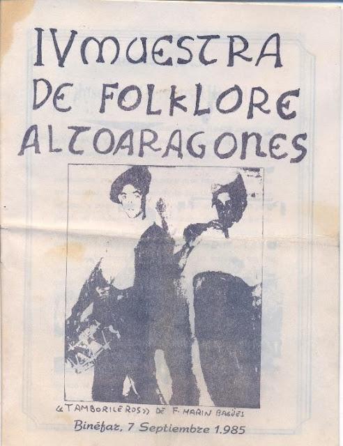 IV Muestra de Folklore Altoaragonés